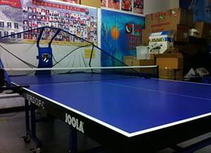 Table Tennis Robot Machine